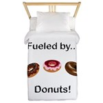 Fueled by Donuts Twin Duvet