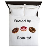 Fueled by Donuts Queen Duvet