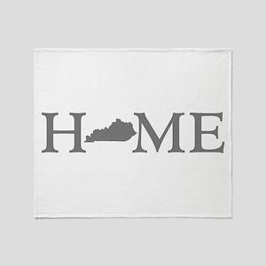 Kentucky Home Throw Blanket