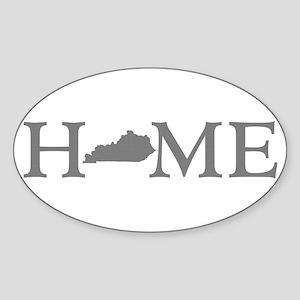 Kentucky Home Sticker (Oval)