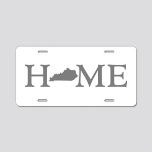 Kentucky Home Aluminum License Plate
