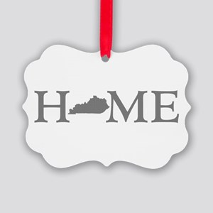 Kentucky Home Picture Ornament