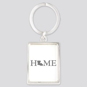 Louisiana Home Portrait Keychain