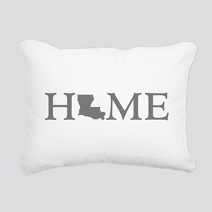 Louisiana Home Rectangular Canvas Pillow