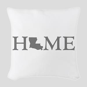 Louisiana Home Woven Throw Pillow