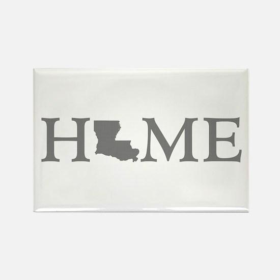 Louisiana Home Rectangle Magnet