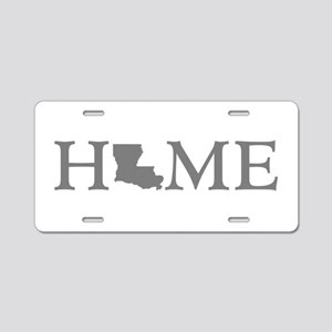 Louisiana Home Aluminum License Plate