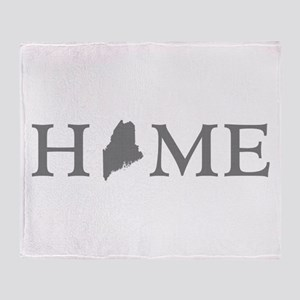 Maine Home Throw Blanket