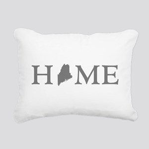 Maine Home Rectangular Canvas Pillow