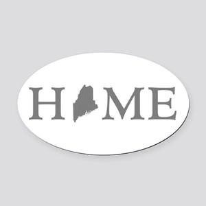Maine Home Oval Car Magnet