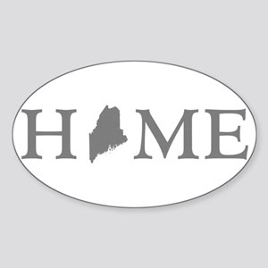 Maine Home Sticker (Oval)