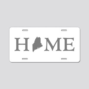 Maine Home Aluminum License Plate