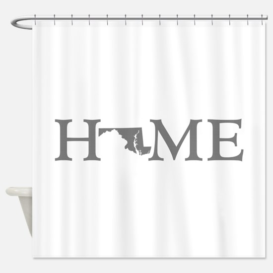 Maryland Home Shower Curtain