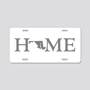 Maryland Home Aluminum License Plate