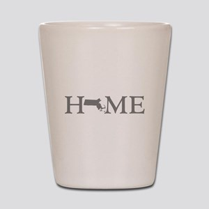Massachusetts Home Shot Glass