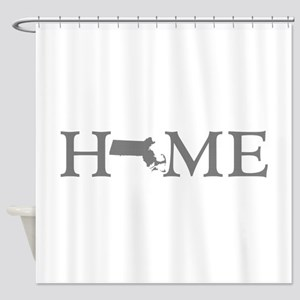Massachusetts Home Shower Curtain