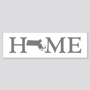Massachusetts Home Sticker (Bumper)