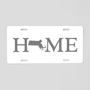 Massachusetts Home Aluminum License Plate
