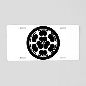 Chosokabe Aluminum License Plate