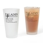 Paladin - Righter Of Wrongs Drinking Glass