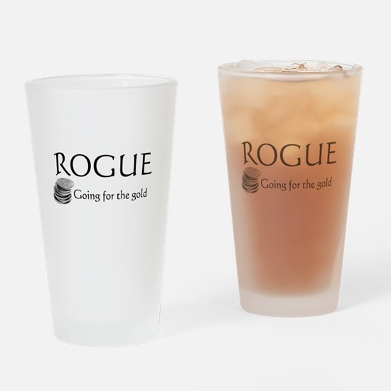 Roguegoinggoldblack.png Drinking Glass
