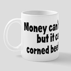 corned beef and hash (money) Mug