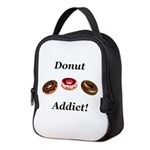 Donut Addict Neoprene Lunch Bag