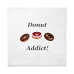 Donut Addict Queen Duvet