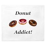 Donut Addict King Duvet
