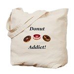 Donut Addict Tote Bag