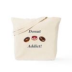 Donut Addict Tote Bag