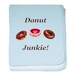 Donut Junkie baby blanket