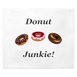 Donut Junkie King Duvet