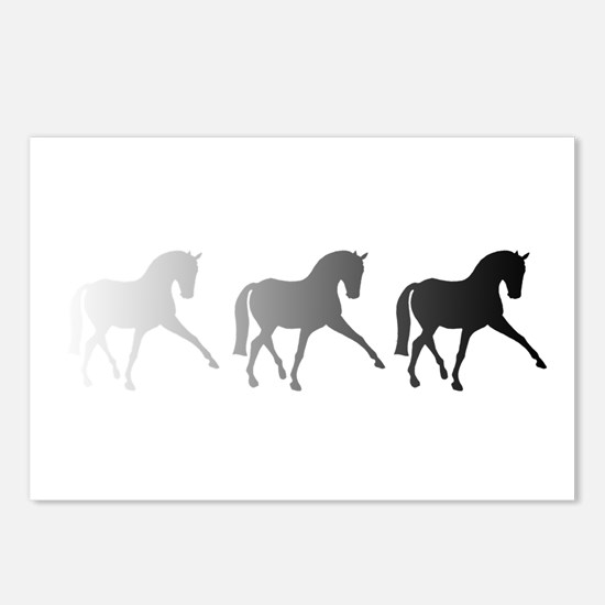 Dressage Horse Sidepass O Postcards (Package of 8)