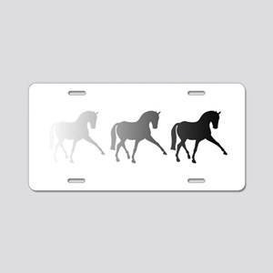 Dressage Horse Sidepass Omb Aluminum License Plate