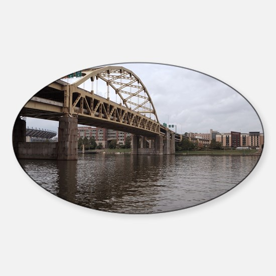 Bridge of Pittsburgh Sticker (Oval)