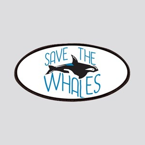 Save the Whales Patches