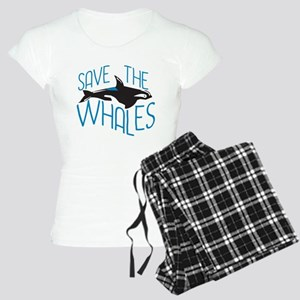 Save the Whales Women's Light Pajamas