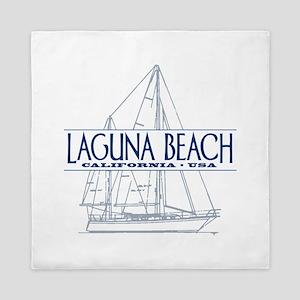 Laguna Beach - Queen Duvet