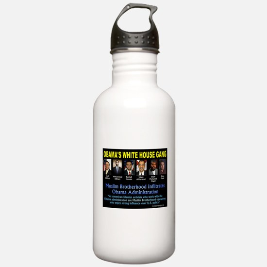 OBAMAS GANG Water Bottle