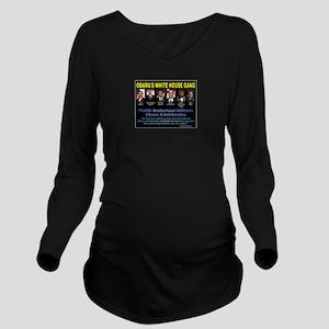 Obamas Gang Long Sleeve Maternity T-Shirt