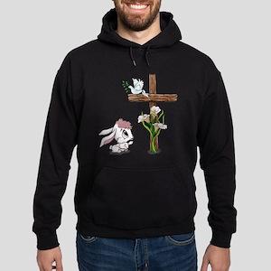 Easter Bunny Cross Hoodie