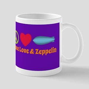 Peace Love & Zeppelin Mug