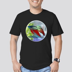 Colorful Betta Fish in a Bubble T-Shirt