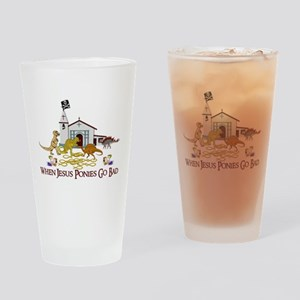 Jesus Ponies - Section Two Drinking Glass