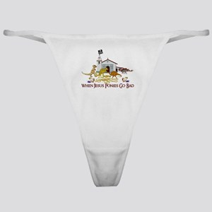 Jesus Ponies - Section Two Classic Thong