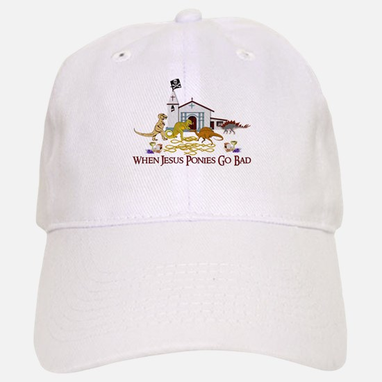 Jesus Ponies - Section Two Baseball Baseball Cap