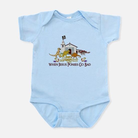 Jesus Ponies - Section Two Infant Bodysuit