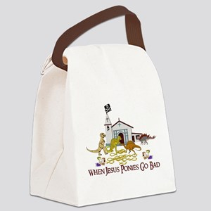 Jesus Ponies - Section Two Canvas Lunch Bag