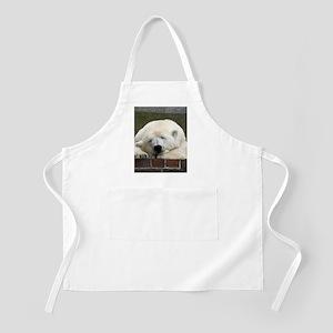 Polar bear 003 Apron